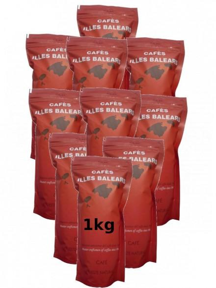 10 coffee Natural 1kg (Grain)