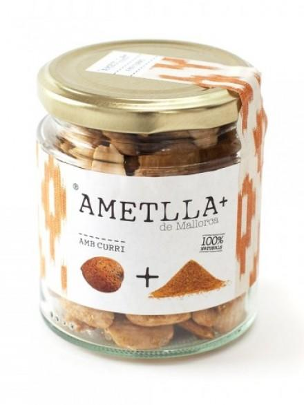 Almendras con curry 130 gr. neto